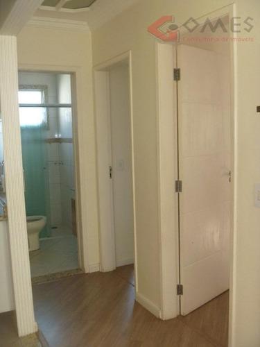 apartamento com 2 dormitórios para alugar, 48 m² por r$ 1.330,00/mês - paulicéia - são bernardo do campo/sp - ap1645