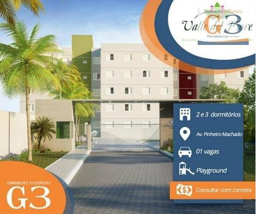 apartamento com 2 dormitórios para alugar, 48 m² por r$ 700/mês - fragata - pelotas/rs - ap2648