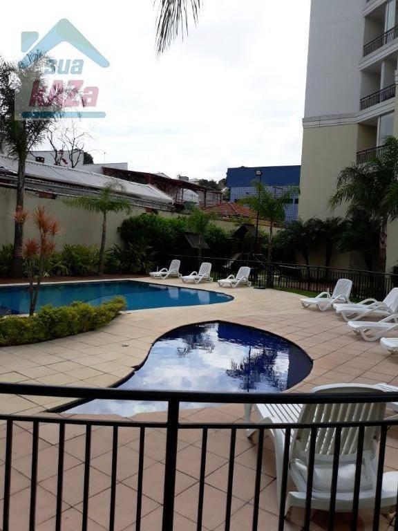 apartamento com 2 dormitórios para alugar, 49 m² por r$ 1.650,00/mês - vila prudente - são paulo/sp - ap0082