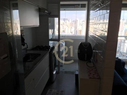apartamento com 2 dormitórios para alugar, 49 m² por r$ 2.900/mês - barra funda - são paulo/sp - ap17649