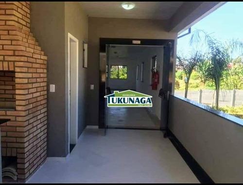 apartamento com 2 dormitórios para alugar, 49 m² por r$ 715/mês - vila alzira - guarulhos/sp - ap2338