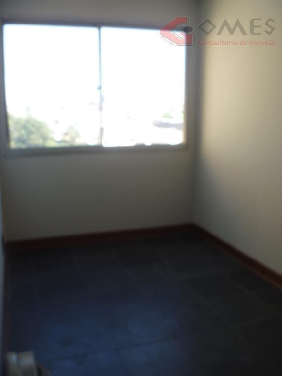 apartamento com 2 dormitórios para alugar, 49 m² por r$ 727,86/mês - assunção - são bernardo do campo/sp - ap2061