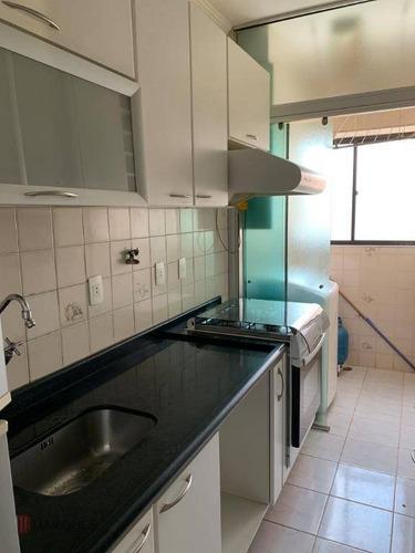 apartamento com 2 dormitórios para alugar, 50 m² por r$ 1.200/mês - vila tijuco - guarulhos/sp - ap0097
