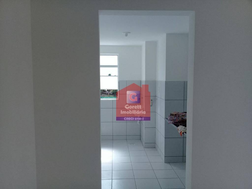 apartamento com 2 dormitórios para alugar, 50 m² por r$ 450/mês - zona norte - são gonçalo do amarante/rn l0540 - ap0277