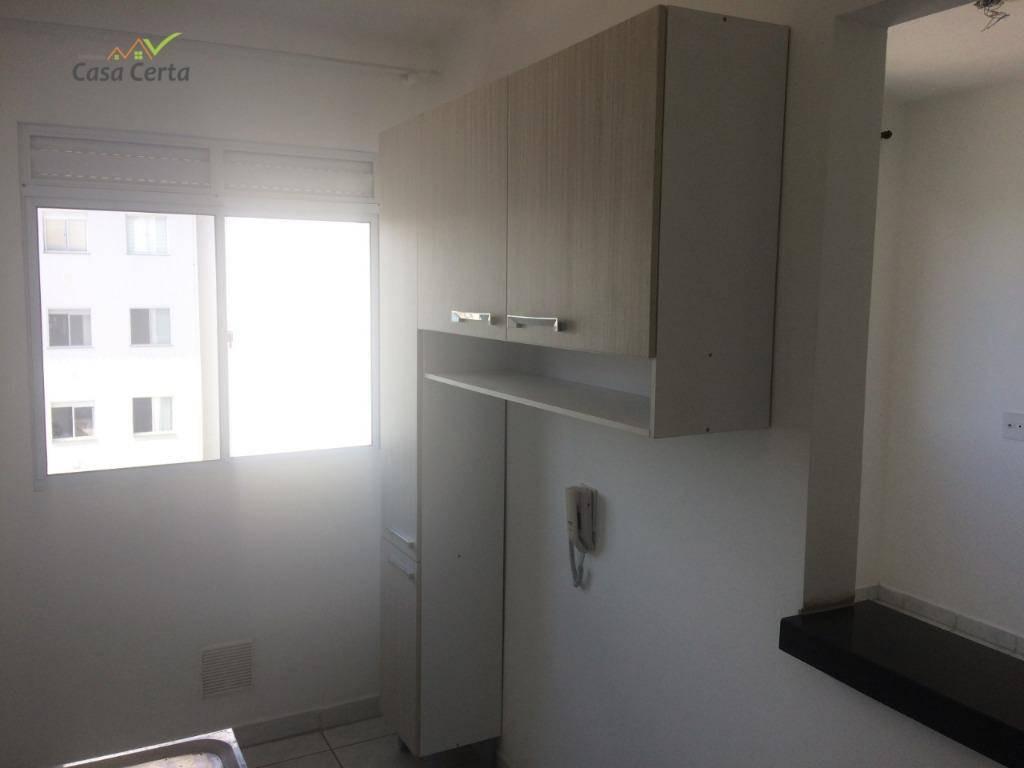 apartamento com 2 dormitórios para alugar, 51 m² por r$ 700/mês - condomínio recanto dos pássaros i - mogi guaçu/sp - ap0103