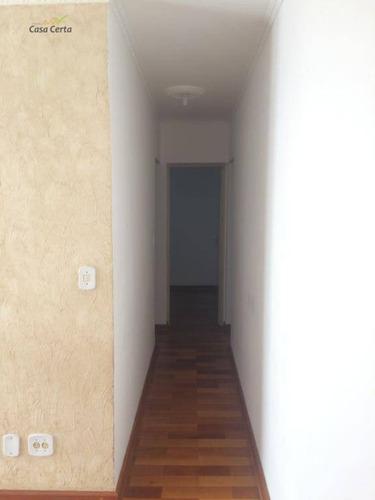apartamento com 2 dormitórios para alugar, 51 m² por r$ 750/mês - jardim presidente - mogi guaçu/sp - ap0155