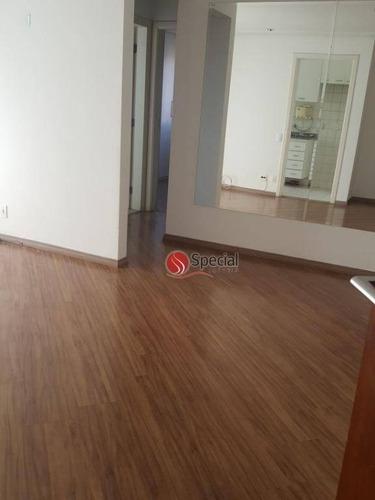 apartamento com 2 dormitórios para alugar, 52 m²  - tatuapé - são paulo/sp - ap5480