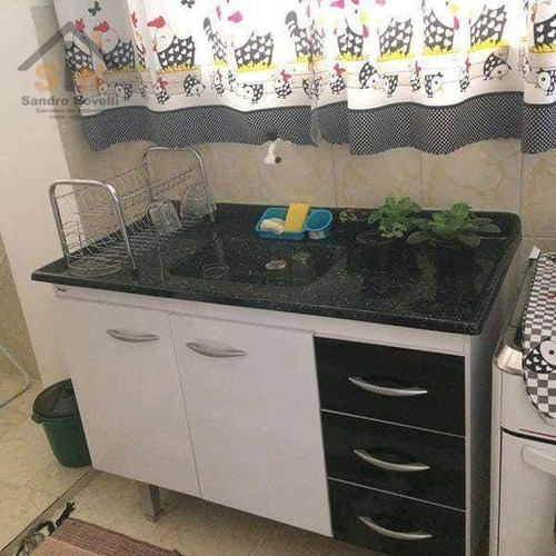 apartamento com 2 dormitórios para alugar, 53 m² por r$ 1.500/mês - portão - arujá/sp - ap0116