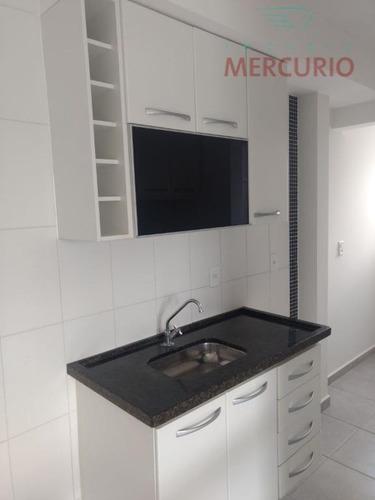 apartamento com 2 dormitórios para alugar, 55 m² por r$ 1.000/mês - vila santa tereza - bauru/sp - ap2563
