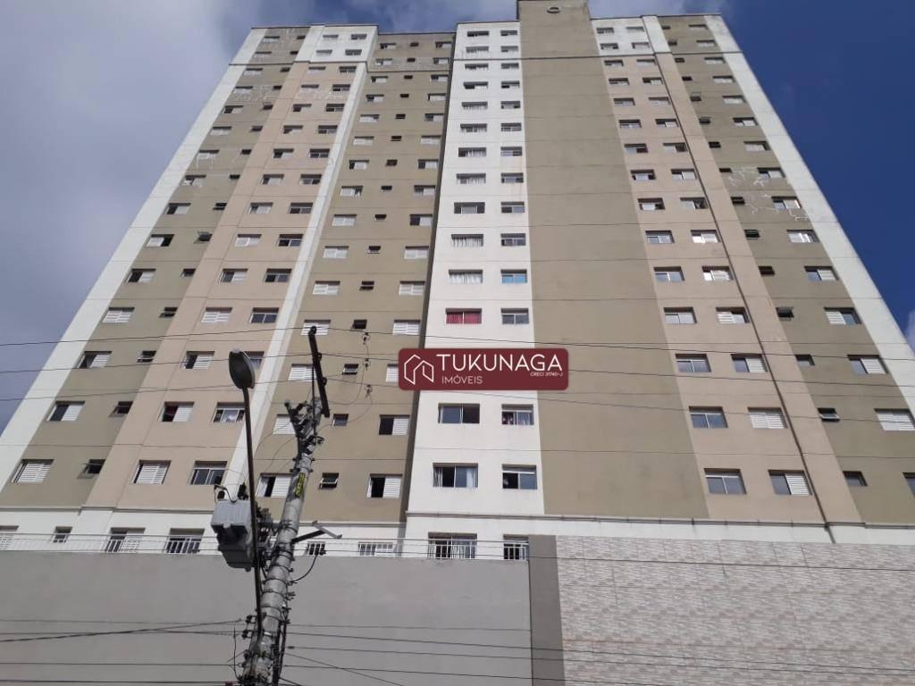apartamento com 2 dormitórios para alugar, 55 m² por r$ 1.100/mês - centro - guarulhos/sp - ap3149