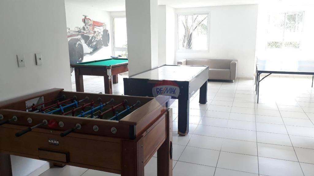 apartamento com 2 dormitórios para alugar, 55 m² por r$ 1.300,00/mês - caxangá - recife/pe - ap1152