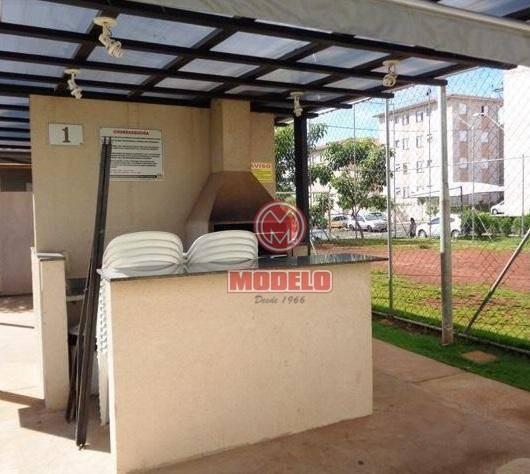 apartamento com 2 dormitórios para alugar, 55 m² por r$ 700/mês - vale do sol - piracicaba/sp - ap2543