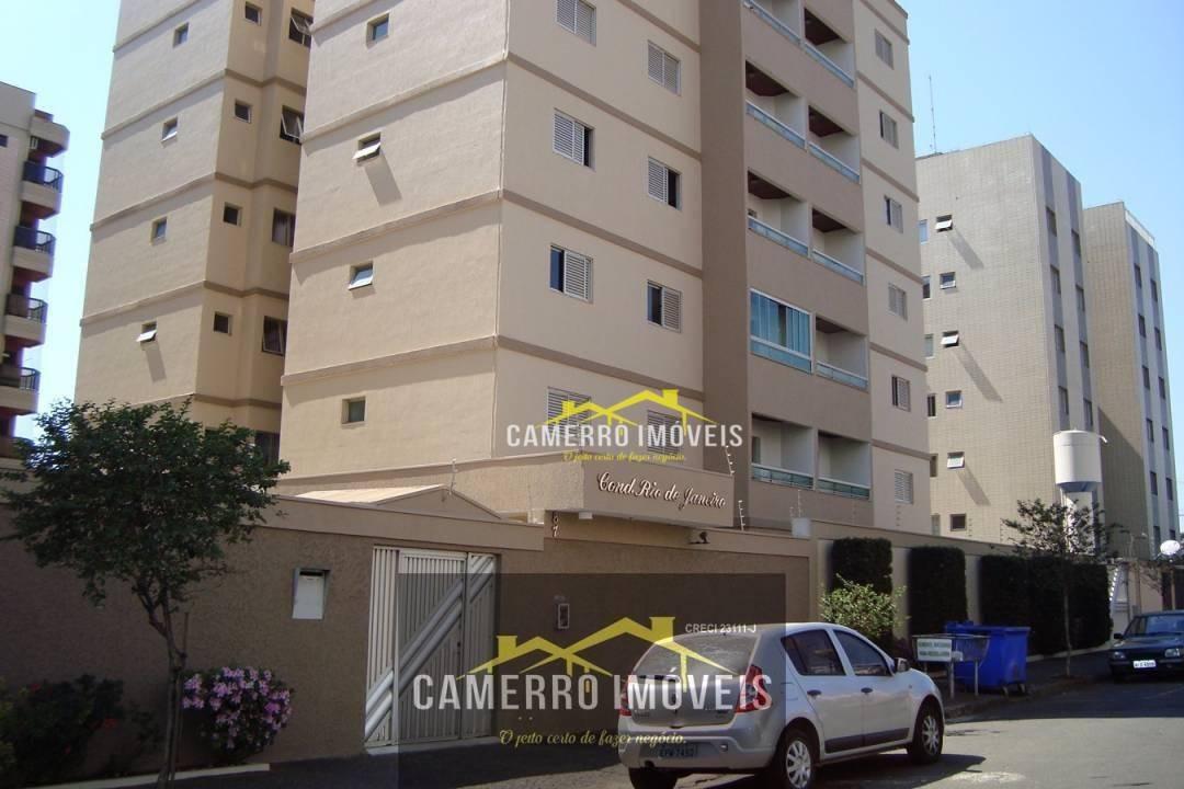 apartamento com 2 dormitórios para alugar, 55 m² por r$ 900 - jardim glória - americana/sp - ap0351