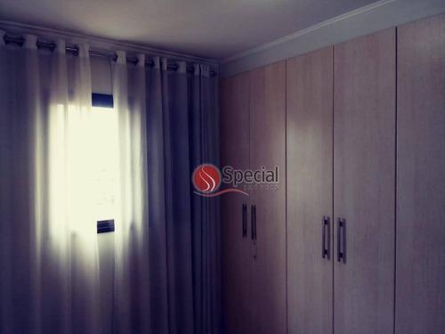 apartamento com 2 dormitórios para alugar, 55 m²  - vila carrão - são paulo/sp - ap11319