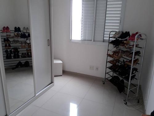 apartamento com 2 dormitórios para alugar, 56 m² por r$ 1.200,00/mês - jardim tupanci - barueri/sp - ap0483