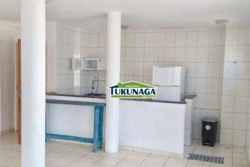 apartamento com 2 dormitórios para alugar, 56 m² por r$ 1.200/mês - vila galvão - guarulhos/sp - ap2491