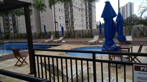 apartamento com 2 dormitórios para alugar, 56 m² por r$ 1.300/mês - vila augusta - guarulhos/sp - cód. ap6740 - ap6740