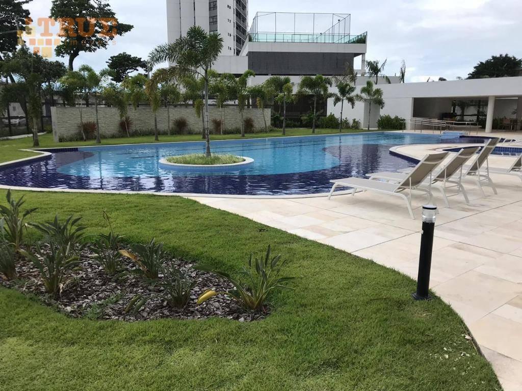 apartamento com 2 dormitórios para alugar, 57 m² por r$ 2.500/mês - santo amaro - recife/pe - ap3527