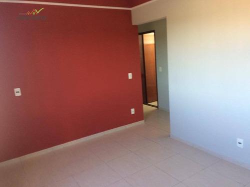 apartamento com 2 dormitórios para alugar, 57 m² por r$ 880/mês - jardim alto dos ypês - mogi guaçu/sp - ap0132