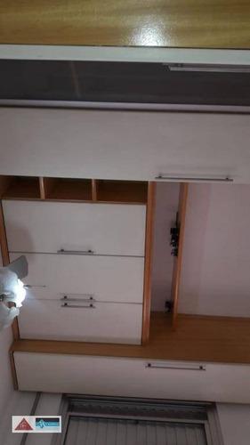 apartamento com 2 dormitórios para alugar, 58 m² por r$ 1.900/mês - tatuapé - são paulo/sp - ap5445