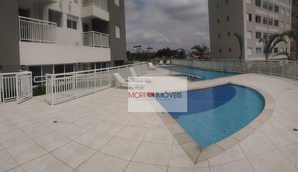 apartamento com 2 dormitórios para alugar, 58 m² por r$ 2.600/mês - barra funda - são paulo/sp - ap2376