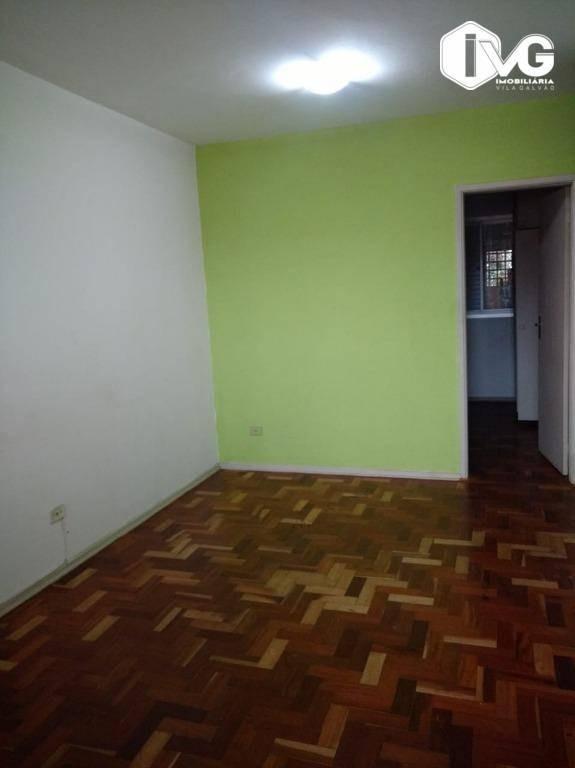 apartamento com 2 dormitórios para alugar, 60 m² por r$ 1.400/mês - gopoúva - guarulhos/sp - ap2023