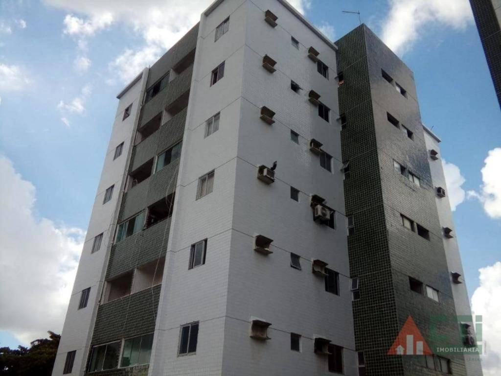 apartamento com 2 dormitórios para alugar, 60 m² por r$ 900/mês - iputinga - recife/pe - ap1020