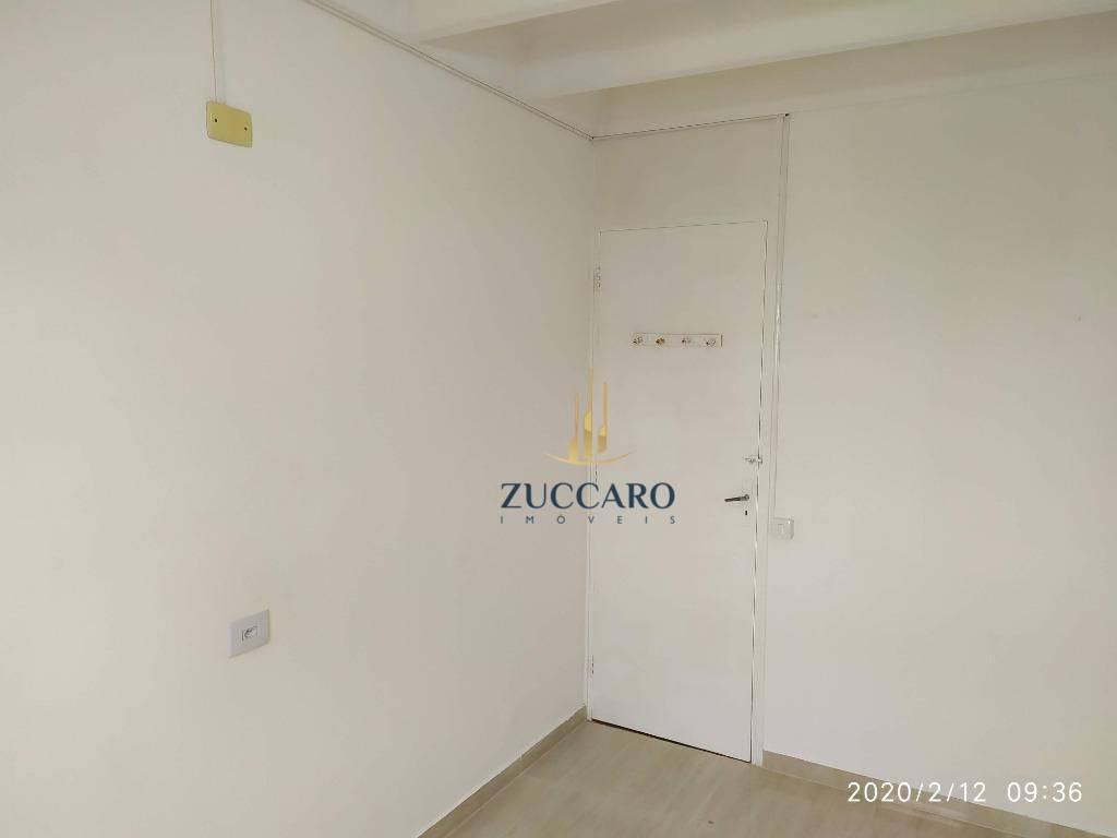 apartamento com 2 dormitórios para alugar, 62 m² por r$ 900/mês - vila progresso - guarulhos/sp - ap15226