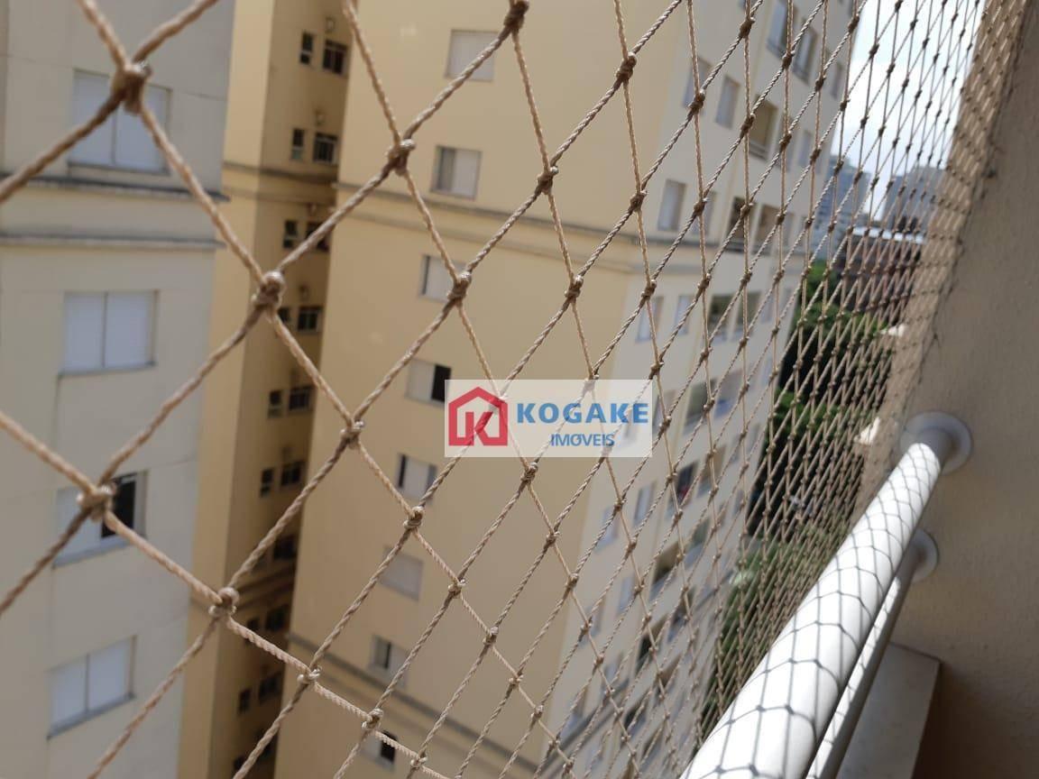 apartamento com 2 dormitórios para alugar, 63 m² por r$ 1.300,00/mês - jardim apolo ii - são josé dos campos/sp - ap6206