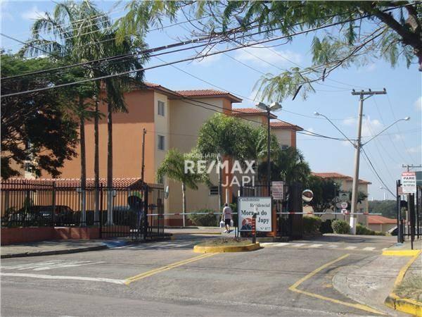 apartamento com 2 dormitórios para alugar, 64 m² por r$ 1.050,00/mês - eloy chaves - jundiaí/sp - ap3833