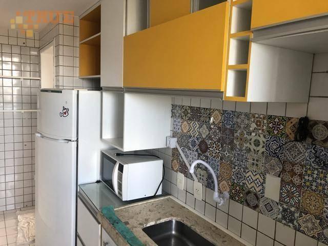 apartamento com 2 dormitórios para alugar, 64 m² por r$ 1.680/mês - casa forte - recife/pe - ap3564