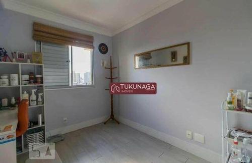 apartamento com 2 dormitórios para alugar, 64 m² por r$ 2.000/mês - picanco - guarulhos/sp - ap2865