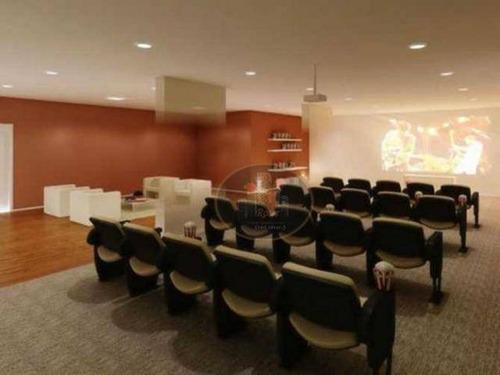 apartamento com 2 dormitórios para alugar, 64 m² por r$ 2.500,00/mês - marapé - santos/sp - ap4016