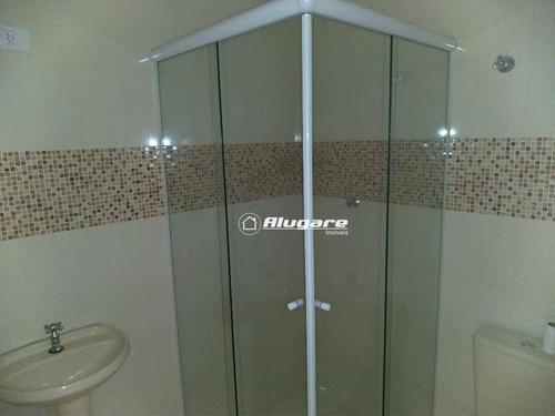 apartamento com 2 dormitórios para alugar, 64 m² por r$ 900/mês - picanco - guarulhos/sp - ap1761