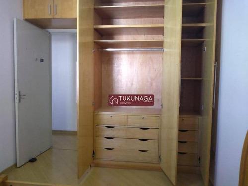 apartamento com 2 dormitórios para alugar, 65 m² por r$ 1.200/mês - centro - guarulhos/sp - ap2869