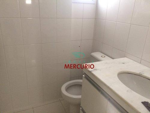 apartamento com 2 dormitórios para alugar, 65 m² por r$ 1.350/mês - vila santa tereza - bauru/sp - ap3217