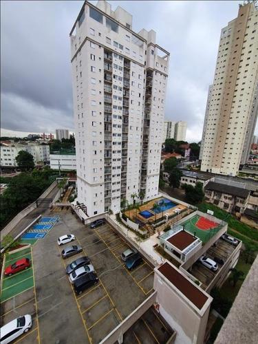 apartamento com 2 dormitórios para alugar, 65 m² por r$ 1.500/mês - vila augusta - guarulhos/sp - ap6555