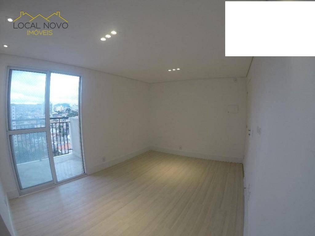 apartamento com 2 dormitórios para alugar, 66 m² por r$ 1.400,00/mês - vila rosália - guarulhos/sp - ap0158
