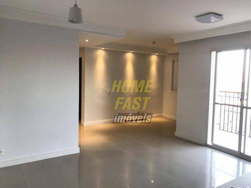 apartamento com 2 dormitórios para alugar, 66 m² por r$ 2.200,00/mês - vila augusta - guarulhos/sp - ap1521