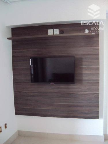 apartamento com 2 dormitórios para alugar, 67 m² por r$ 4.000/mês - meireles - fortaleza/ce - ap1108