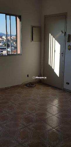 apartamento com 2 dormitórios para alugar, 68 m² por r$ 1.100/mês - bom clima - guarulhos/sp - ap2716