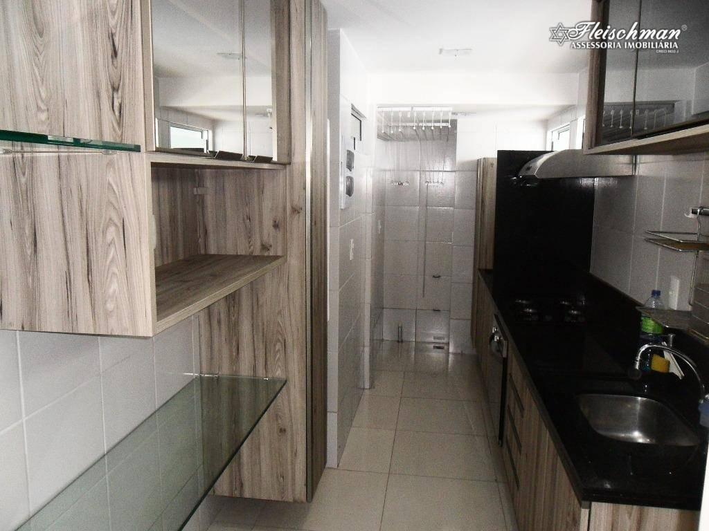 apartamento com 2 dormitórios para alugar, 70 m²  - casa amarela - recife/pe - ap1626
