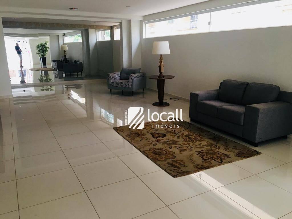 apartamento com 2 dormitórios para alugar, 70 m² por r$ 1.100/mês - vila imperial - são josé do rio preto/sp - ap1606