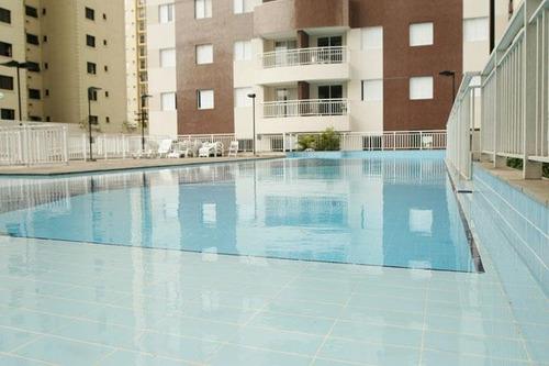 apartamento com 2 dormitórios para alugar, 72 m² por r$ 3.000/mês - tatuapé - são paulo/sp - ap2849