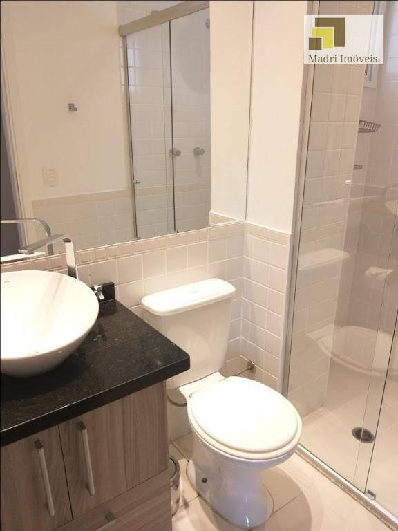 apartamento com 2 dormitórios para alugar, 72 m² por r$ 3.000/mês - vila leopoldina - são paulo/sp - ap1437