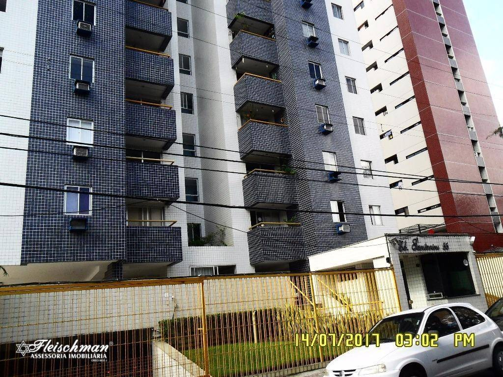 apartamento com 2 dormitórios para alugar, 75 m² por r$ 1.400,00/mês - aflitos - recife/pe - ap0805