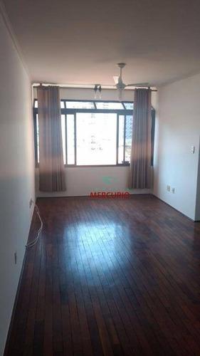 apartamento com 2 dormitórios para alugar, 75 m² por r$ 900/mês - vila nova cidade universitária - bauru/sp - ap3312
