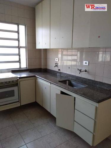 apartamento com 2 dormitórios para alugar, 76 m² por r$ 1.300/mês - rudge ramos - são bernardo do campo/sp - ap2316
