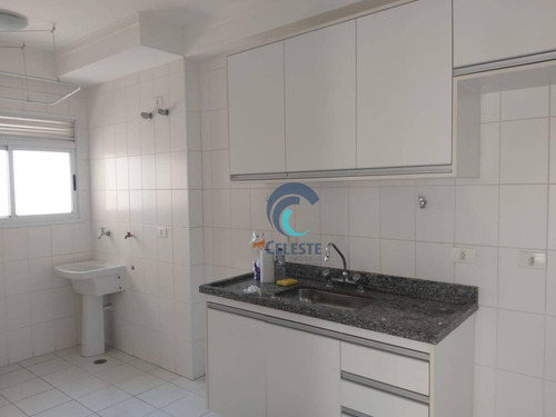 apartamento com 2 dormitórios para alugar, 77 m² por r$ 1.600/mês - jardim satélite - são josé dos campos/sp - ap1239