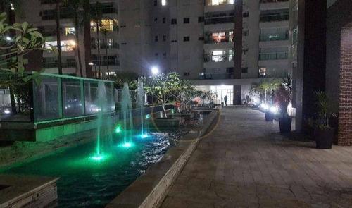 apartamento com 2 dormitórios para alugar, 77 m² por r$ 4.500/mês - josé menino - santos/sp - ap4209